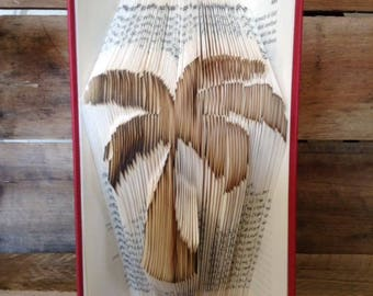 BOGO! Palm Tree Folded Book Art