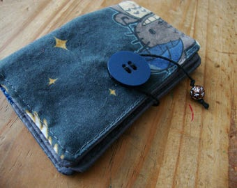 Fabric card wallet, card holder, wallet slim card,wallet card case