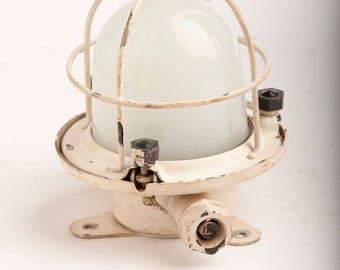 Ship Light Small Salvaged Nautical