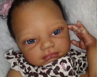 SOLD....SOLD....African American Reborn Doll- Nevaeh by Denise Pratt