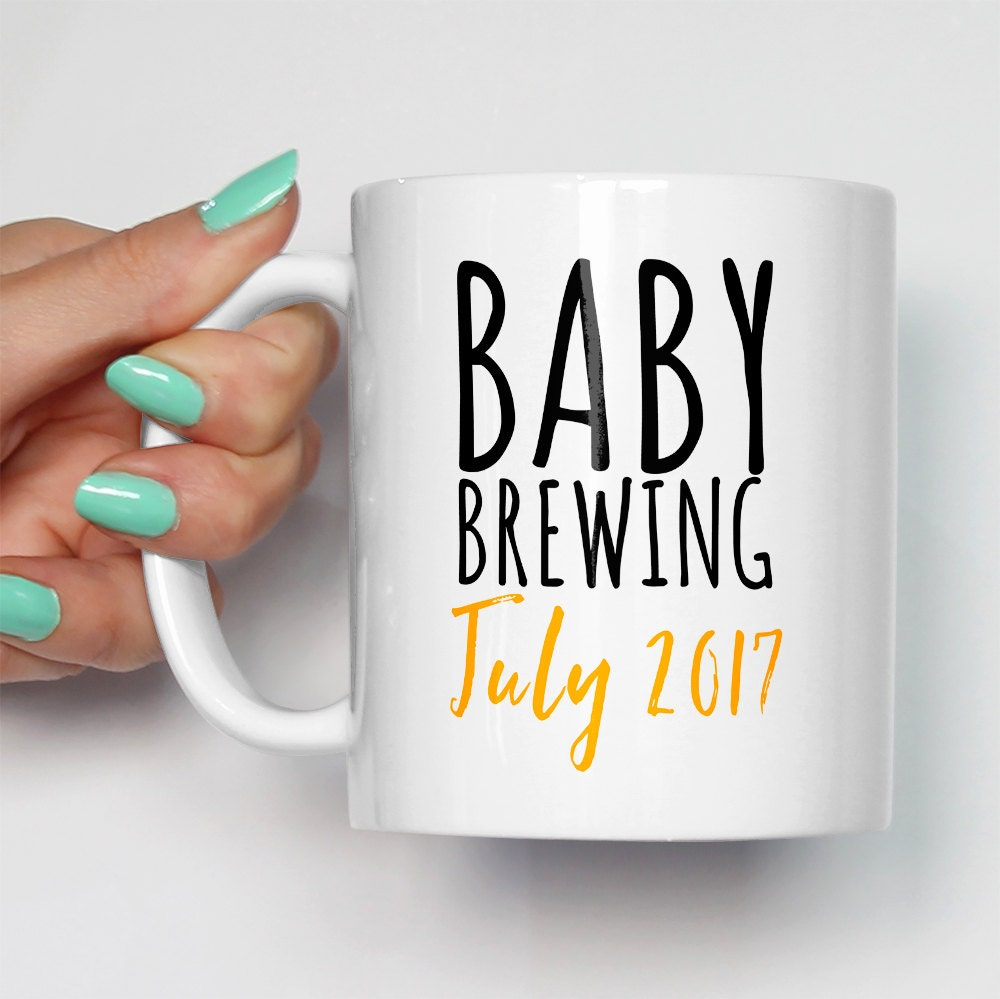 Expecting Baby Gifts Uk : Baby brewing mug personalised gift expecting mother mom mum
