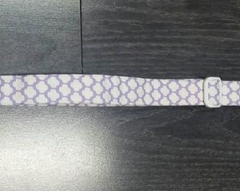 Light purple large dog collar
