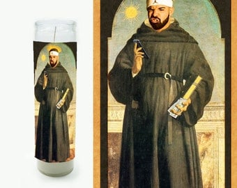 Drake Prayer Candle - Drake Candle - Great gift - Drake Religious Style Candle - Fan Art