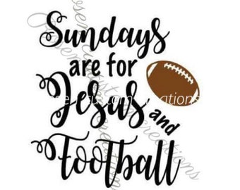 Sundays are for Football and Jesus