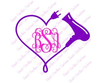 Cosmetologist Decal Etsy