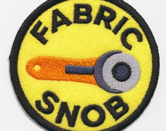 Crafting Merit Badges - Patch - Fabric Snob
