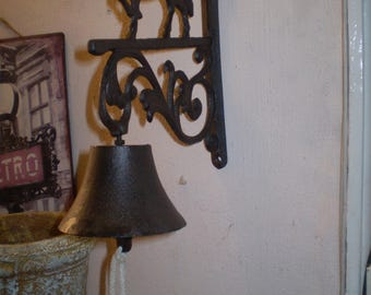 English Vintage Cottage Horse door bell.Lovely condition