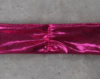 Hot Pink Sparkly Headband for Baby, Toddler, Teen or Adult
