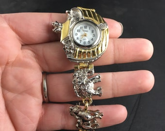 Gorgeous Noah's Ark and Animals Xanadu Quartz Wrist Watch