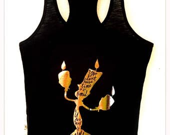 Bold and Daring Lumiere Racerback Tank