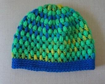 Children's Puff Stitch Hat