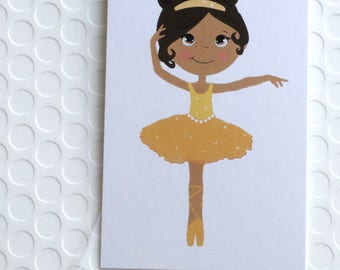 100 FASHION TAGS CLOTHING Tags Accessories Tags Price Tags  Cute Ballerina in Yellow Tutu  Retail Tags with  Plastic Loops
