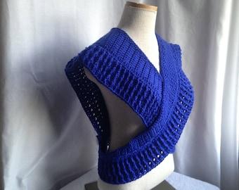 Crochet PATTERN - crochet shawl pattern, working shawl crochet pdf, easy crochet shawl pattern, buttoned shawl pattern, crochet wrap pattern