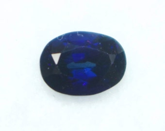 Natural Royal Blue Sapphire Oval 6.3mm 0.95cts