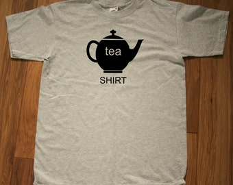Tea drinkers printed T-shirt