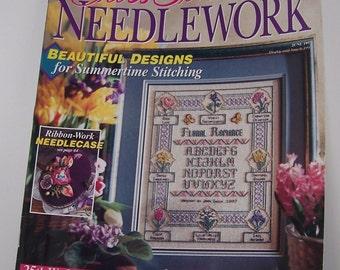 Cross Stitch & Needlework Magazine June 1997 Better Homes and Gardens