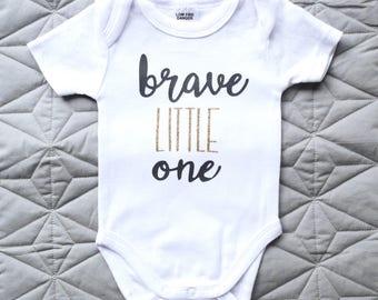 Brave Little One Onesie