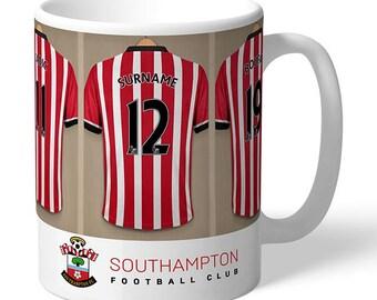 Personalised Southampton F.C. Dressing Room Mug