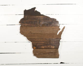 Wisconsin Pallet Wall Hanging