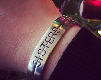 Sisters, Best Friends, bracelet set