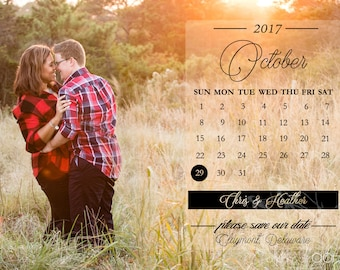 Sample Magnet Save the Date