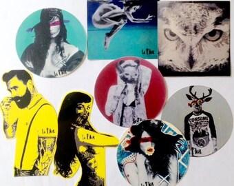 Stickers/Urban Art/Illustraties