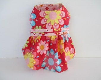 XXS Reversible Dog Sundress