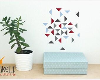 Wall decals wall sticker furniture stickers - Granada triangles