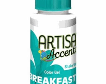 Breakfast Blue Artisan Accents Professional Color 2 Oz.