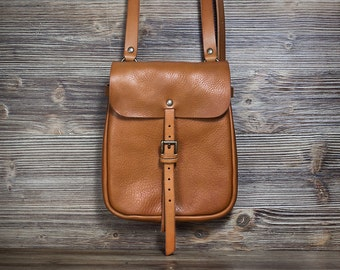Brown leather purse - Brown leather pouch - Women's purse - Men's purse - Men's bag - Women's bag - gift for men - gift for women
