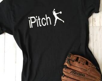iPitch• Softball Shirt • Pitcher • Softball life • Girls fast pitch•