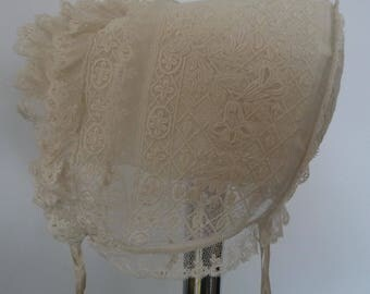 1900s, Baby or child bonnet