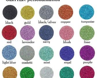 Glitter add on- add glitter to any item