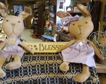 Small Bunny Couple