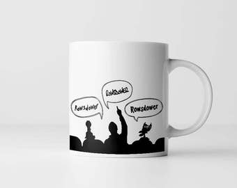 Mystery Science Theater  3000 Coffee Mug | Zap Rowsdower | Cult Classic Quote | Mugs With Sayings | MST3K | Tom Servo | Gift For Men