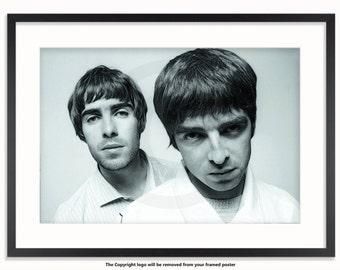 Oasis Liam & Noel Poster