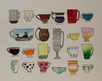 Original - Tea Cup Display 2