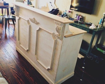 Reception desk - Shabby chic  - made to order -Augusta