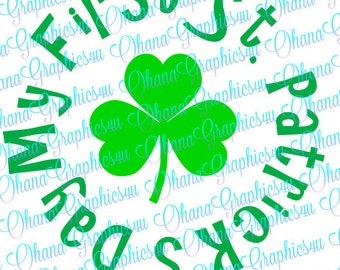 My First St. Patrick's Day with Shamrock