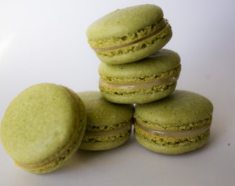 Box of 10 Matcha Macarons