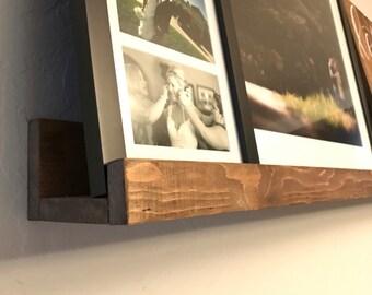 Rustic Wood Ledge Shelf