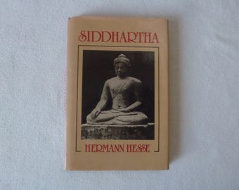 Siddhartha by Hermann Hesse - New Directions Hardcover with Dust Jacket