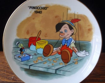 Pinocchio Charger Plate