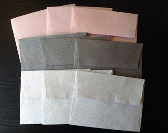 4x6 envelopes recycled handmade paper, handmade paper, recycled paper