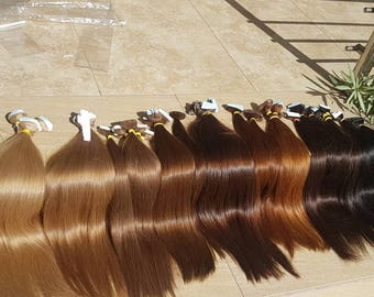 "Tape in extensions,Russian hair,Slavic hair,Luxury quality,Remy hair,hand made,Human hair ,Tape in ,22"",Long hair ,Blonde hair,Brown hair"
