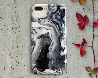 Black and white marble htc one m9 case Htc one m8 case HTC m9 case Htc m8 case marble htc case htc m9 cover htc m8 cover