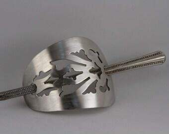 Silver Plate Hair Pin
