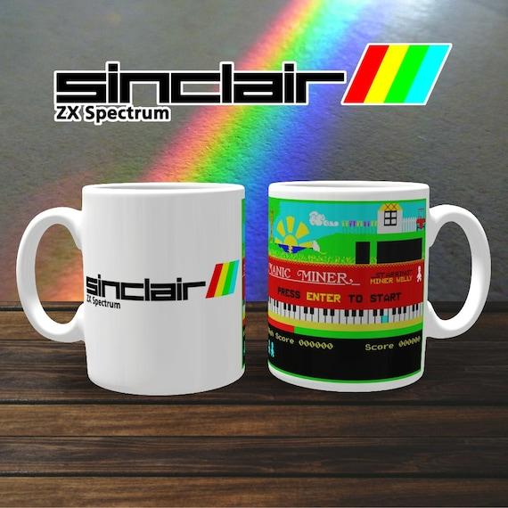 Sinclair Manic Miner Mug