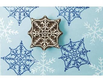 Stamp Crystal Snow 6,5x6,5 cm
