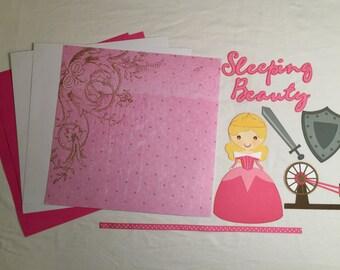 Sleeping Beauty Scrapbook Kit